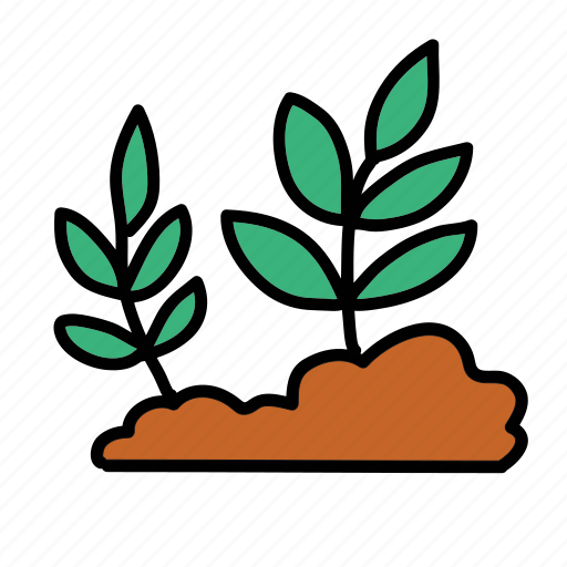 farm, grow, leaves, nature, plant icon