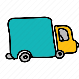 delivery, farm, nature, transport, truck, vehicle icon