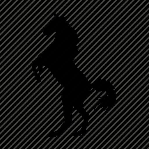 caballo, horse, riding icon