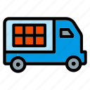 truck, delivery, fast, logistics, shipping
