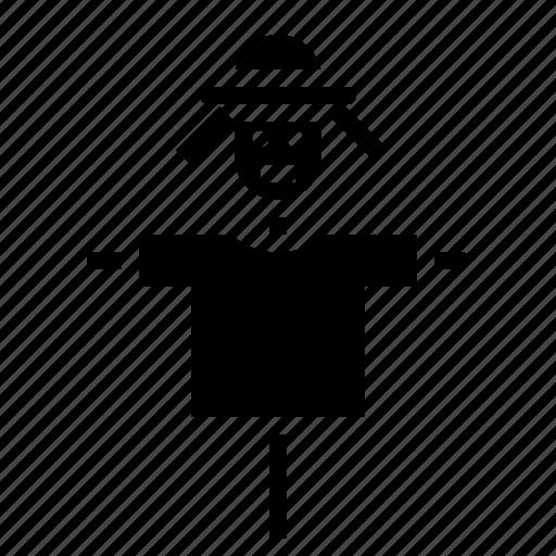 farm, hay, scarecrow icon