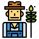 farm, farmer, people, professions icon