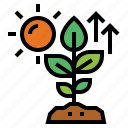 growth, nature, plant, sprout icon