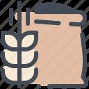 seed, farm, sack, harvest, fertilizer icon