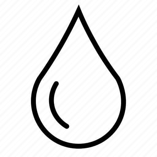 ecology, water, water droplets icon