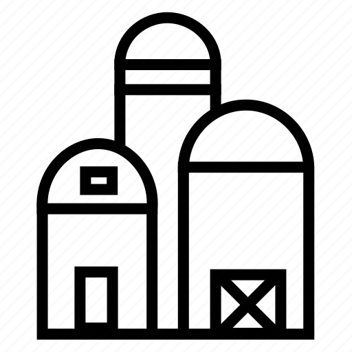 storage garage, storehouse, storeroom, supplies, vehicle, warehouse icon
