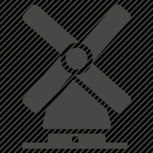 architecture, mill icon