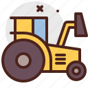agriculture, bulldozer, gardening, landscape