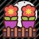 agriculture, flowers, gardening, landscape