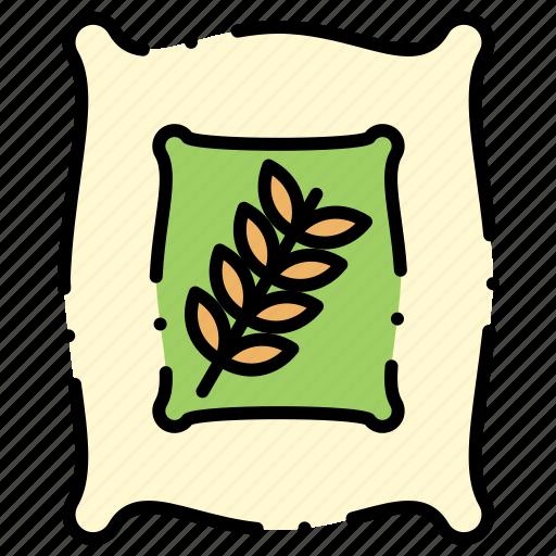 bag, flour, whaet, wheat icon