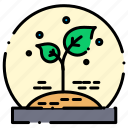 leafs, plant, plants icon