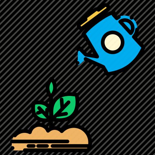 plant, plants, shower icon