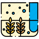 agricultural, nature, wheat icon