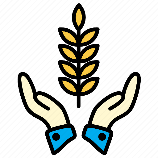 agricultural, farm, wheat icon