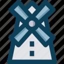 agriculture, farm, farming, windmill icon