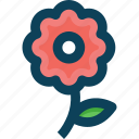 agriculture, farm, flower icon