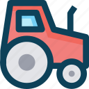 agriculture, farm, tractor icon