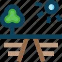 farm, farming, farmland icon