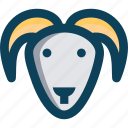agriculture, animal, farm, sheep icon