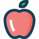 apple, farm, fruit, fruits, organic icon