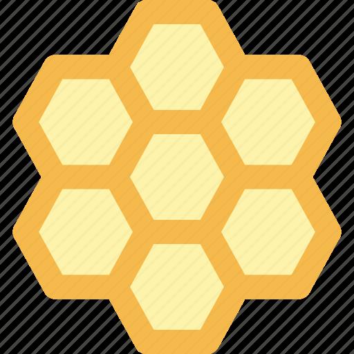 bee, beehive, farming, honey comb icon