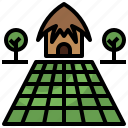 buildings, farm, gardening, home