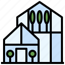 buildings, ecological, green, house, leaf