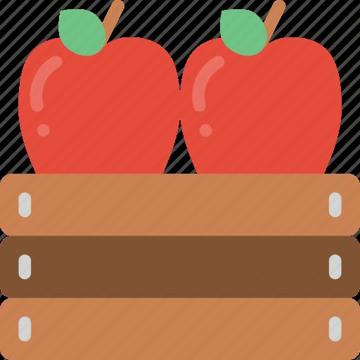 agriculture, apples, farm, farming icon