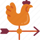 agriculture, farm, farming, vane, weather icon