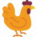 agriculture, chicken, farm, farming icon