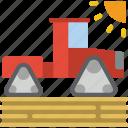 farm, farming, agriculture, modern, tractor