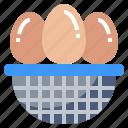 egg, eggs, food, nutrition icon