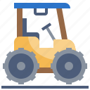 farm, harvest, tractor, transportation, vehicle