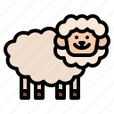 farm, sheep, animal, farming