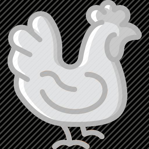 agriculture, chicken, farm, farming icon