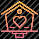 birdhouse, garden, nature, tool, tools icon