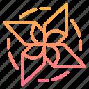 farm, pinwheel, wind, windmill icon