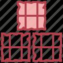 bale, farm, hay, stalk, straw icon