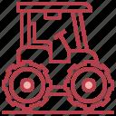 farm, harvest, tractor, transportation, vehicle