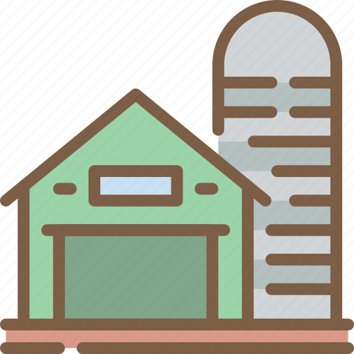 agriculture, barn, farm, farming icon