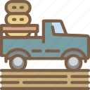 agriculture, farm, farming, pick, up icon