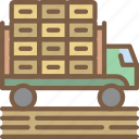 agriculture, farm, farming, truck icon