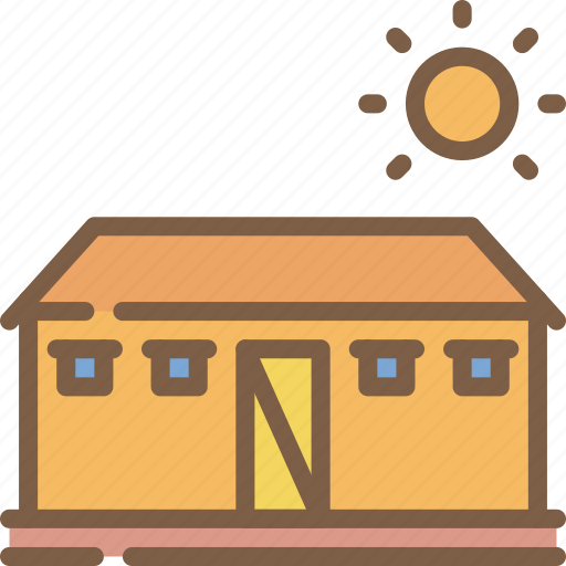 agriculture, building, farm, farming, out icon