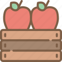 agriculture, apples, farm, farming icon