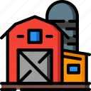 agriculture, barn, farm, farming icon