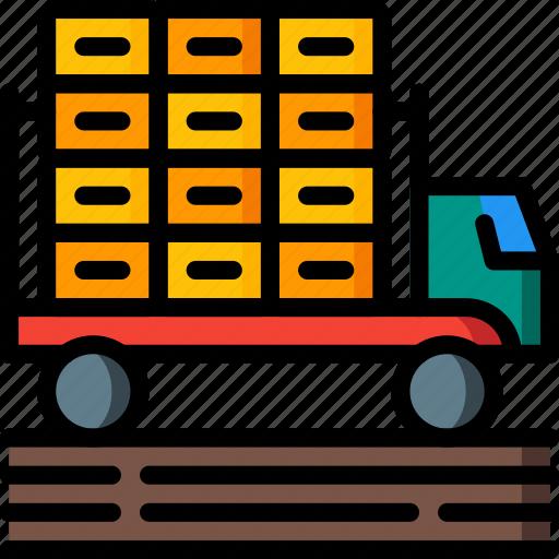 agriculture, farm, farming, truck icon