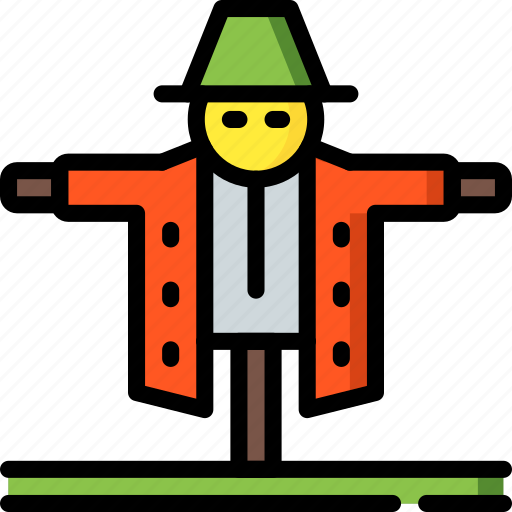 Agriculture, farm, farming, scarecrow icon - Download on Iconfinder