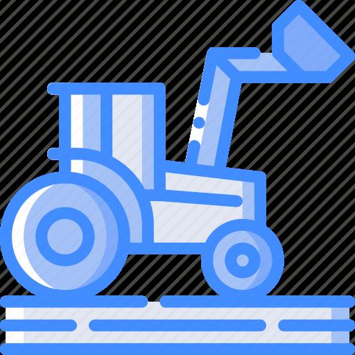 agriculture, farm, farming, tractor icon