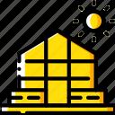 agriculture, farm, farming, green, house icon