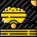 agriculture, farm, farming, trailer icon